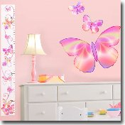 Butterfly Ladybug Wall Decals