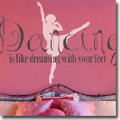 Dancing Ballet Wall Decals