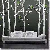 Wall Tree Floral Decals