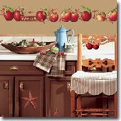 Kitchen Country Wall Decals