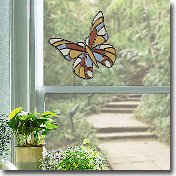 Stained Glass Wall Window Decal