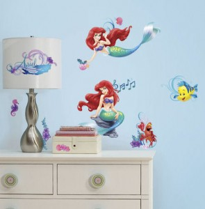 The Little Mermaid Decals