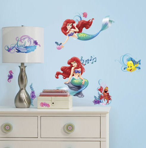 Inspirational The Little Mermaid Decals
