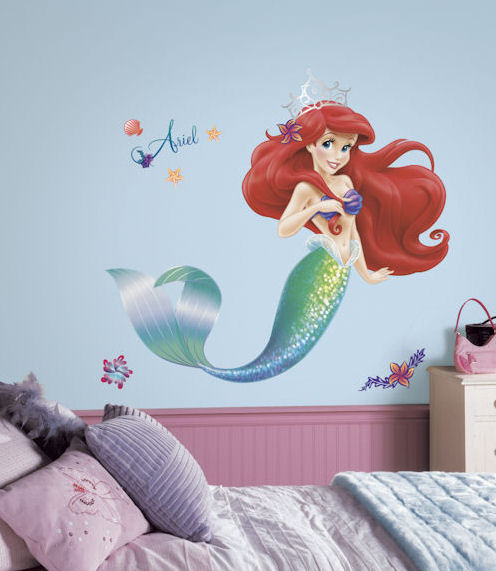 New The Little Mermaid Giant Decal