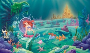 The Little Mermaid XL Wall Mural