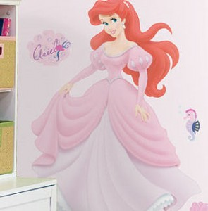 Ariel Giant Decal