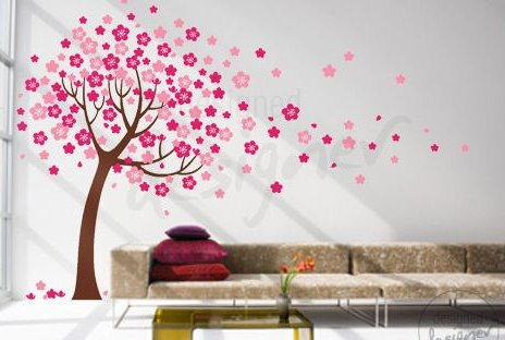 Superb Check out the birds and blossom decal or especially this very popular and amazing cherry blossom wall sticker