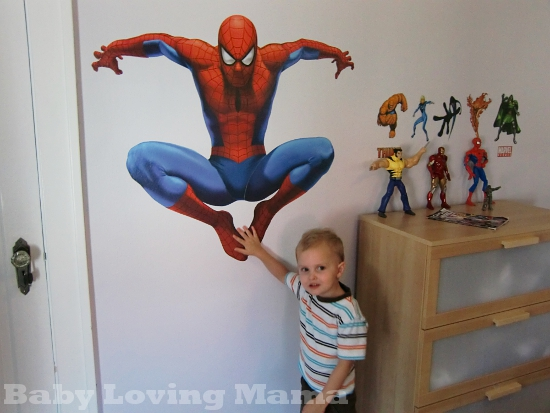 Loving the Superhero Room!!