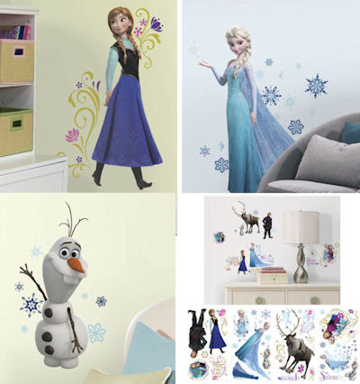 Http://www.wallstickeroutlet.com/wall Decor Detail. Frozen Decal Pack Part 45