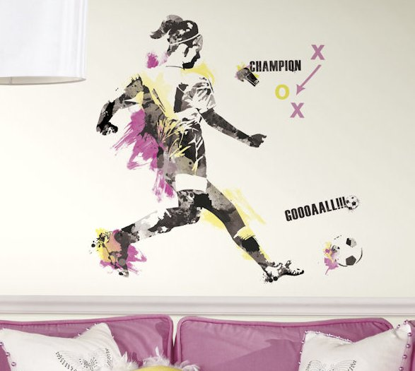Football Wall Sticker at Home and Interior Design Ideas