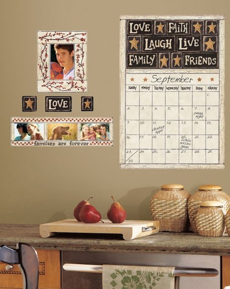 Family & Friends Dry Erase Decal
