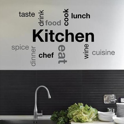 Amazing wallpops kitchen
