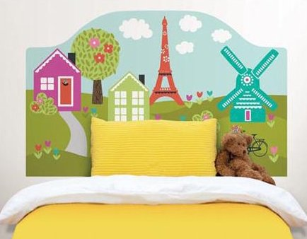Superb dilly dally headboard decal