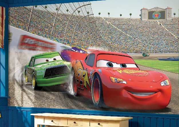 disney-cars-giant-mural