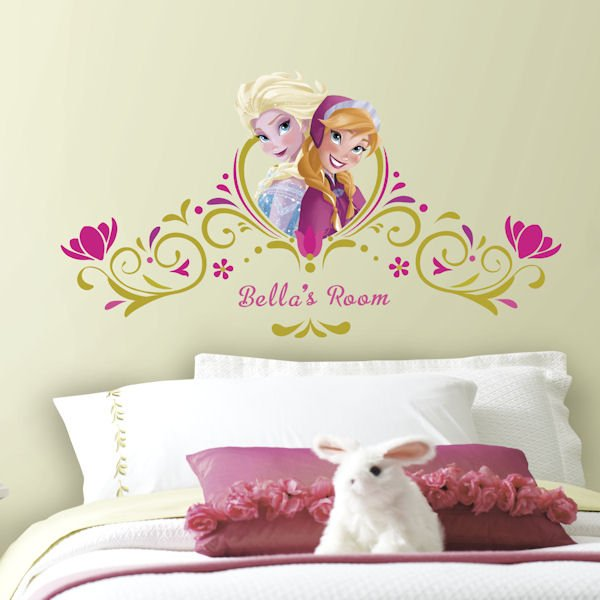 Perfect frozen springtime headboard sticker