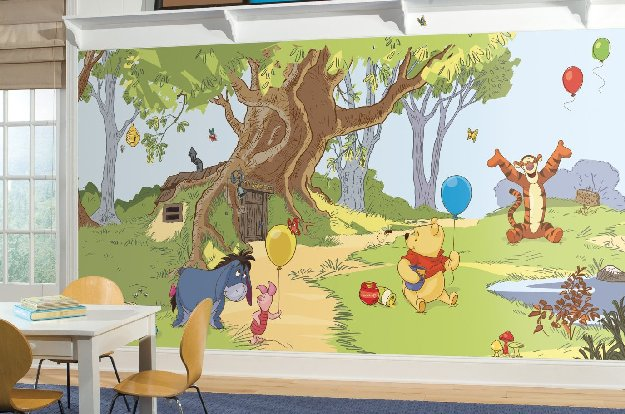 pooh-and-friends-wall-mural