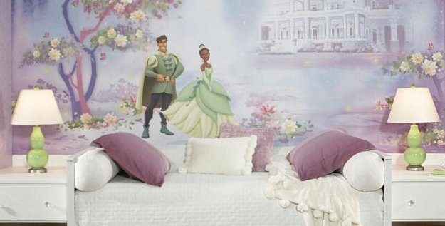 princess-and-frog-wall-mural
