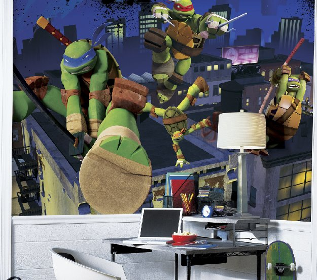 teenage-mutant-ninja-turtles-wall-mural