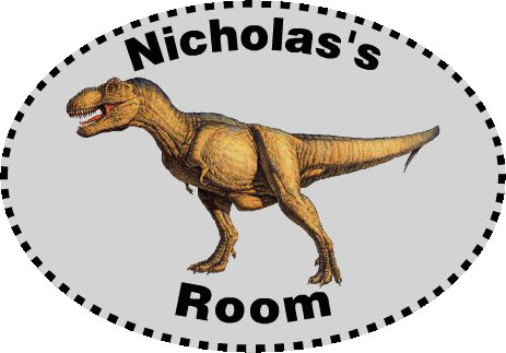 dinosaur-custom-name-decal