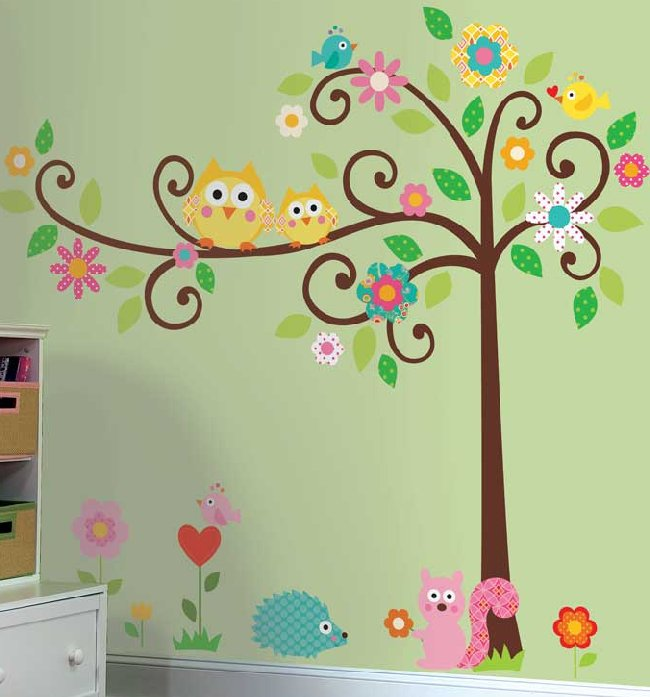scroll-tree-wall-sticker