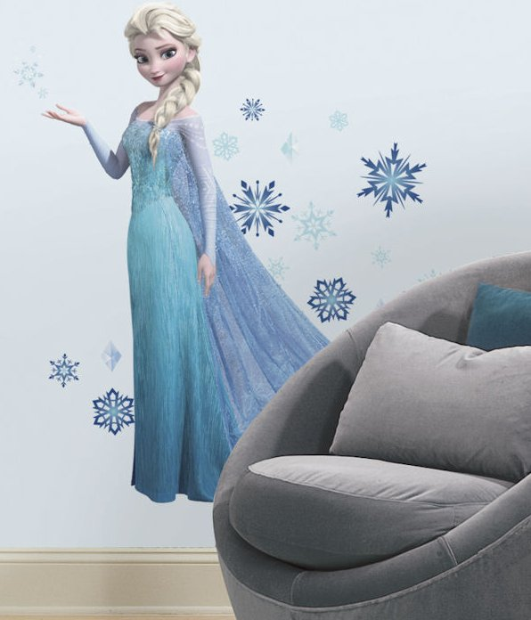 Marvelous frozen elsa wall decal