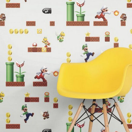 Decorating with Nintendo Super Mario Themed Wall Decor ...